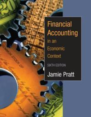 Cover of Financial Accounting in an Economic Context