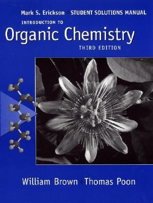 Cover of Introduction to Organic Chemistry, Student Solutions Manual