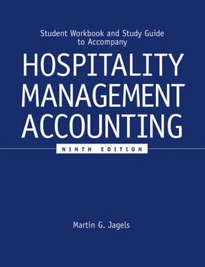 Cover of Hospitality Management Accounting, Student Workbook