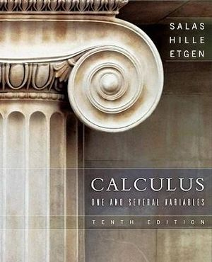 Cover of Calculus One and Several Variables 10E