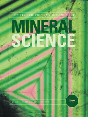 Cover of The 23rd edition of the manual of mineral science
