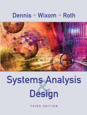 Cover of Systems analysis design