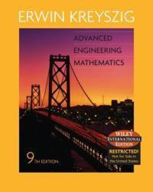Cover of Advanced Engineering Mathematics 9E Wiley International Edition