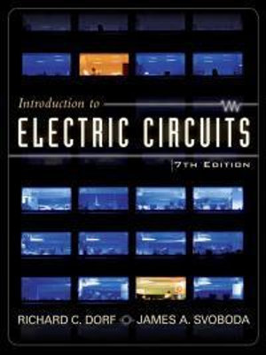 Cover of Introduction to electric circuits