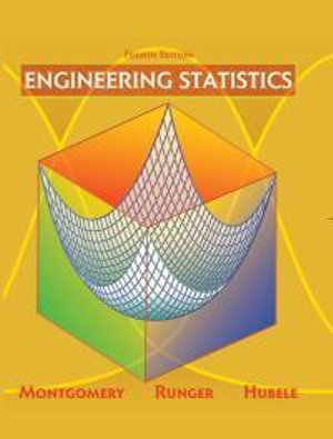 Cover of Engineering statistics