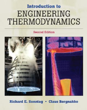 Cover of Introduction to Engineering Thermodynamics