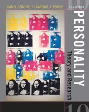 Cover of Personality: Theory and Research