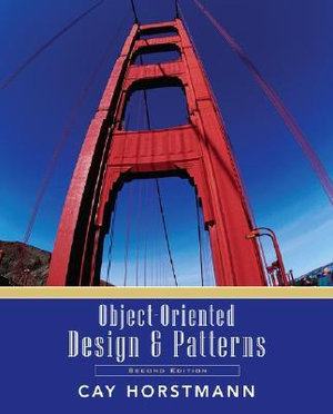 Cover of Object-oriented design and patterns
