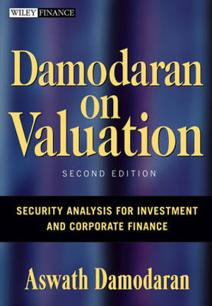 Cover of Damodaran on Valuation 2E