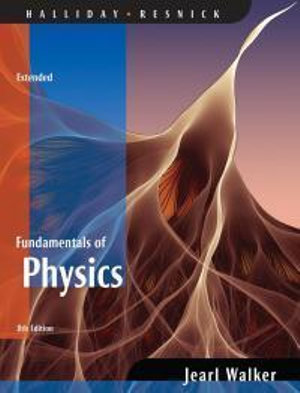 Cover of Fundamentals of Physics 8E Extended