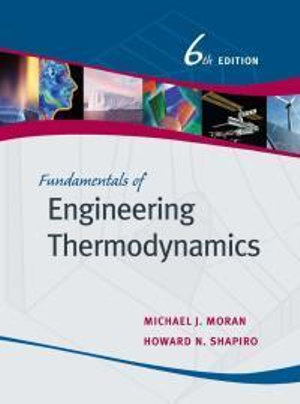 Cover of Fundamentals of Engineering Thermodynamics 6E