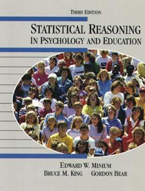 Cover of Statistical reasoning in psychology and education
