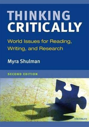 Cover of Thinking Critically