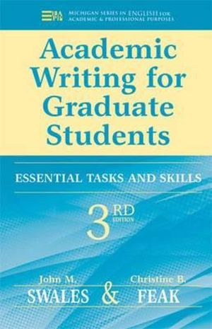 Cover of Academic Writing for Graduate Students