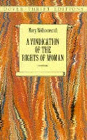 Cover of A Vindication of the Rights of Woman