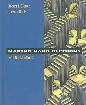 Cover of Making Hard Decisions with DecisionTools