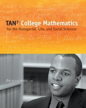 Cover of College Mathematics for the Managerial, Life, and Social Sciences (with  CengageNOW Printed Access Card)