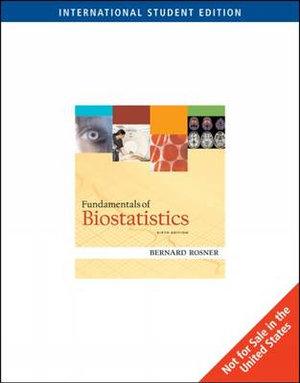 Cover of Fundamentals of Biostatistics