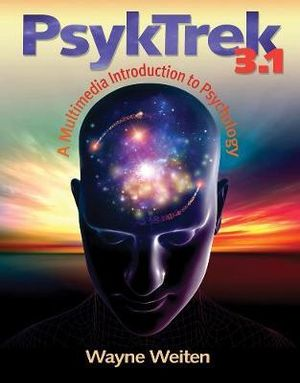 Cover of PsykTrek 3.1 : A Multimedia Introduction to Psychology