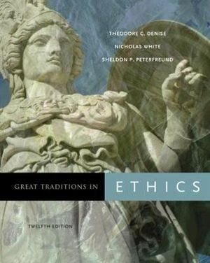 Cover of Great Traditions in Ethics