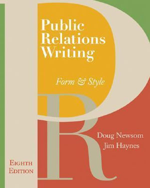 Cover of Public Relations Writing: Form & Style