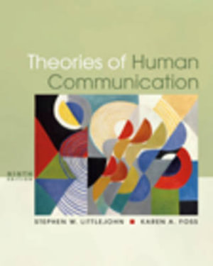 Cover of Theories of Human Communication