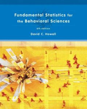 Cover of Fundamental Statistics for the Behavioral Sciences