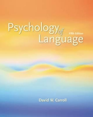 Cover of Psychology of Language