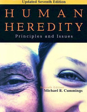 Cover of Human Heredity: Principles and Issues, Updated Edition