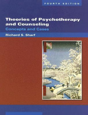 Cover of Theories of Psychotherapy and Counseling