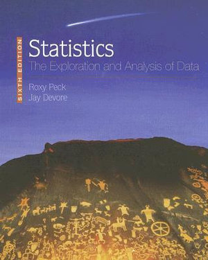 Cover of Statistics: The Exploration & Analysis of Data