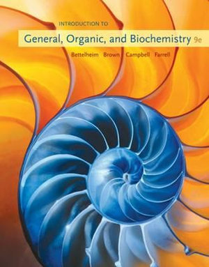 Cover of Introduction to General, Organic and Biochemistry