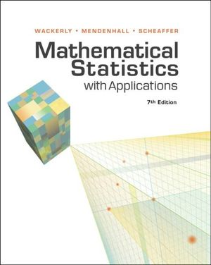 Cover of Bundle: Mathematical Statistics with Applications, 7th + Student  Solutions Manual