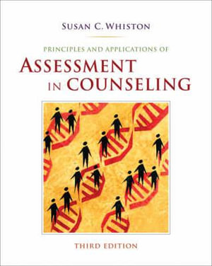 Cover of Principles and Applications of Assessment in Counseling