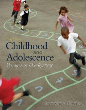 Cover of Childhood and Adolescence: Voyages in Development
