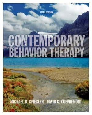 Cover of Contemporary Behavior Therapy