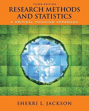Cover of Research Methods and Statistics: A Critical Thinking Approach