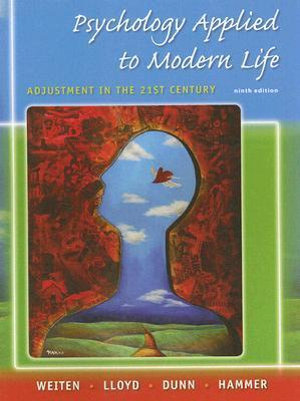 Cover of Psychology Applied to Modern Life: Adjustment in the 21st Century