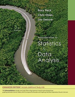 Cover of Introduction to Statistics and Data Analysis, Enhanced Review Edition
