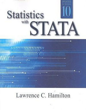 Cover of Statistics with STATA