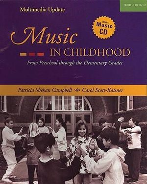 Cover of Music in Childhood: Enhanced Edition