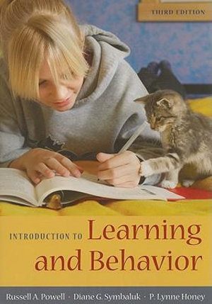 Cover of Introduction to Learning and Behavior