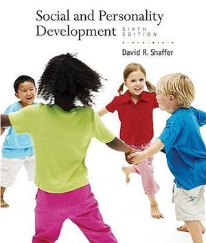 Cover of Social and Personality Development