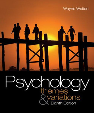 Cover of Study Guide for Weiten's Psychology: Themes and Variations, 8th