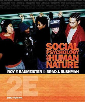 Cover of Social Psychology and Human Nature, Brief Version