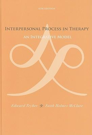 Cover of Interpersonal Process in Therapy: An Integrative Model