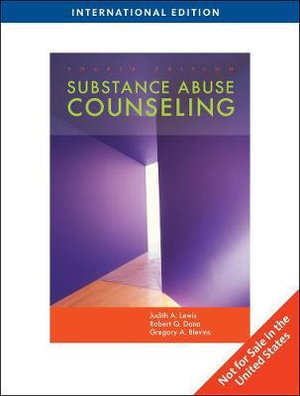 Cover of Substance Abuse Counseling