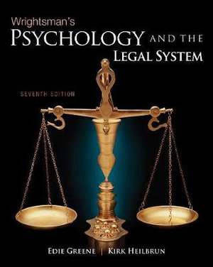 Cover of Wrightsman's Psychology and the Legal System