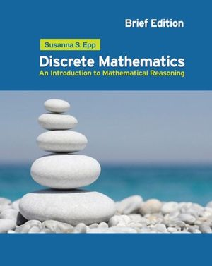 Cover of Discrete Mathematics: Introduction to Mathematical Reasoning