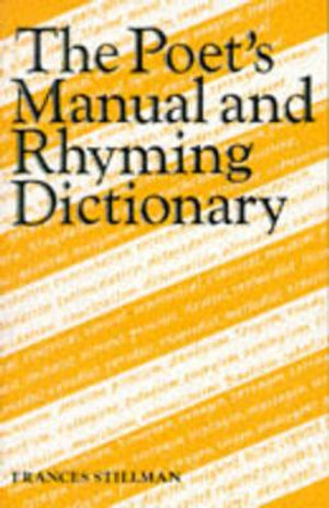 Cover of The Poet's Manual and Rhyming Dictionary